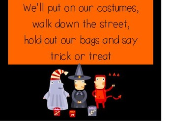 Halloween Medley Powerpoint to use with Dr. Jean's song