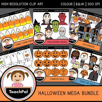 Halloween Mega Bundle - Halloween Clip Art