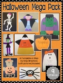 Halloween Mega Craft and Activity Pack - 9 Craft Bundle!