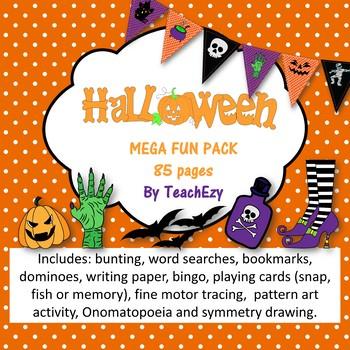 Halloween Mega Fun Pack for Kids