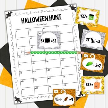 Third Grade Halloween Math