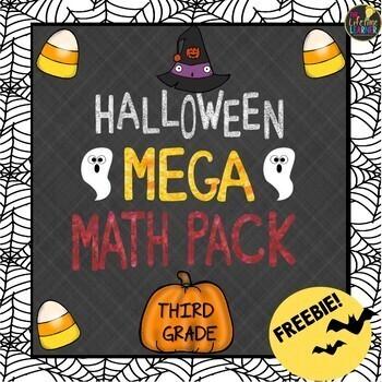 Third Grade Halloween Math FREEBIE!