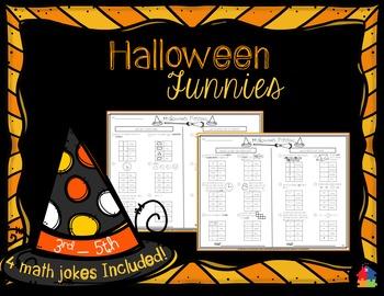 Halloween Mega Pack (3rd - 5th Math)