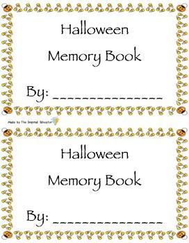Halloween Memory Book FREEBIE