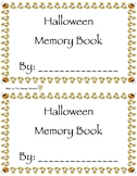 Halloween Memory Book FREEBIE