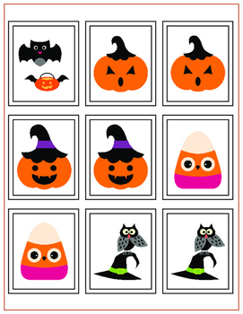 Halloween Memory Card Game: Play if You Dare!