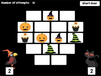 Smartboard Halloween Game