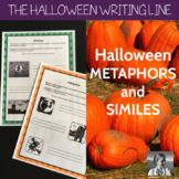 Halloween Metaphors and Similes, ELA 4-8