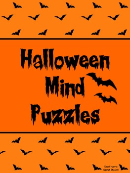 Halloween Mind Puzzles ~ Fun activities using logic and reasoning