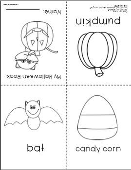 Halloween Mini Book