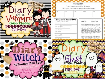 Halloween Fiction Comprehension Stories