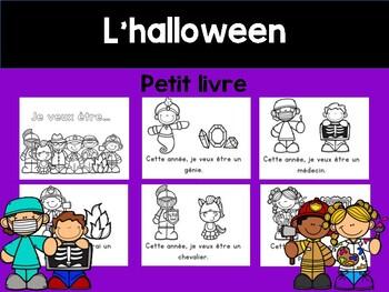 Halloween Mini Book Fr Je Vais Etre