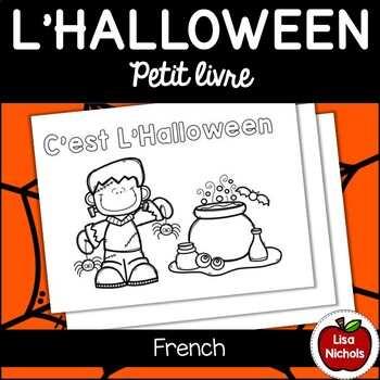 Halloween Mini Book Fr Je Vois J Ai Vu
