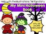 Halloween Mini Book - Walking to the Haunted House