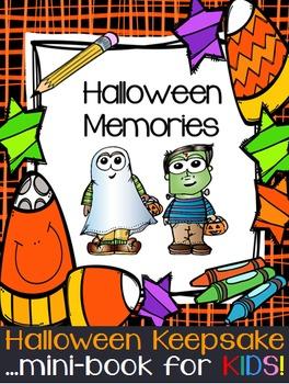 Halloween Writing Interactive Notebook Mini-Book