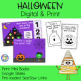 Halloween Mini Books