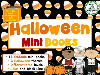 Halloween Mini Books - ESL/ENL, Special Needs, Young Learners