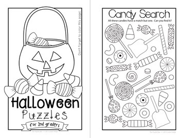Halloween Mini Books for Grades K-5