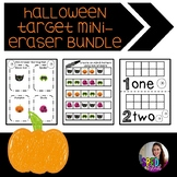 Halloween Target Mini-Eraser Activity Bundle