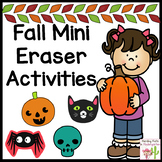 Halloween Mini Eraser Math Activities
