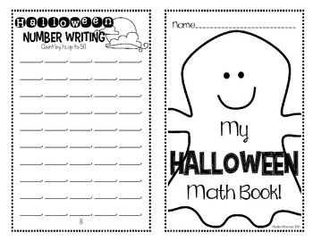 Halloween Mini Math Books! (NO PREP)