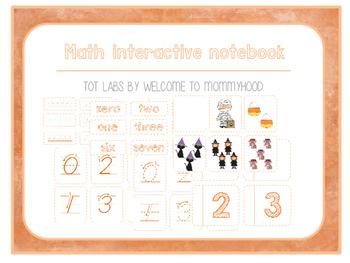Halloween Mini Math Interactive Notebook
