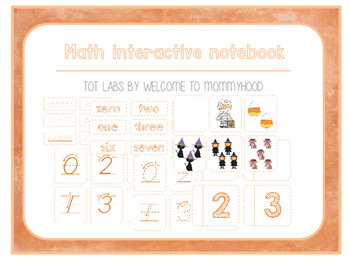 Halloween Mini Math Interactive Notebook