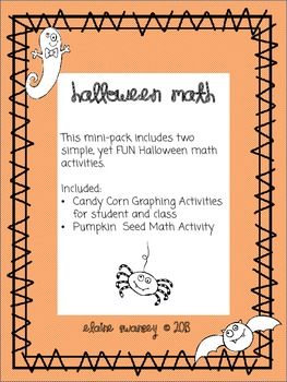 Halloween Mini-Math Pack