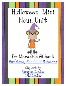 Halloween Mini Noun Unit