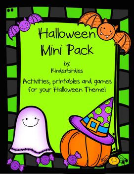 Halloween Mini Pack - Literacy and Math Activities