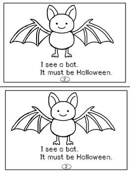 Halloween Mini-Readers For Primary (K-2)