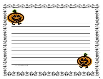 Halloween Mini Research Pumpkin Theme