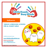 Halloween - Mini Thematic Unit for Toddlers/Pre-K
