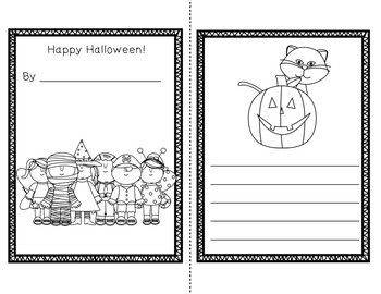 Halloween Mini Unit~ Includes Graphic Organizers & Much More!