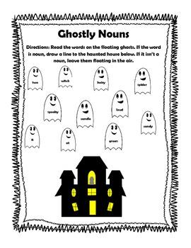 ~Halloween Mini Unit~  Language Arts Skills! Common Core