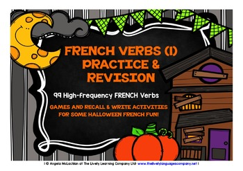 FRENCH VERBS (1) - GAMES & ACTIVITIES - HALLOWEEN EDITION