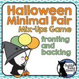 Halloween Minimal Pairs | Speech-Language Therapy | Fronting and Backing