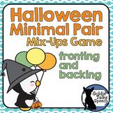 Halloween Minimal Pairs | Speech-Language Therapy | Fronti
