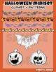 Halloween Miniset art and backgrounds