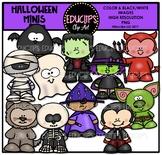 Halloween Minis Clip Art Bundle {Educlips Clipart}