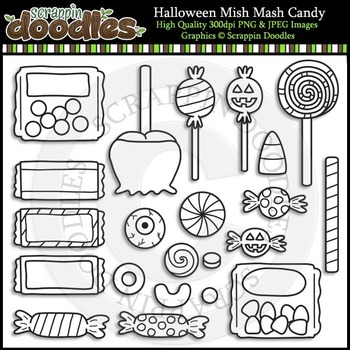 Halloween Mish Mash Candy