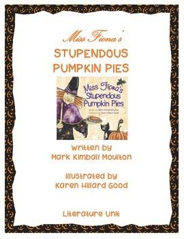 Halloween:  Miss Fiona's Stupendous Pumpkin Pies