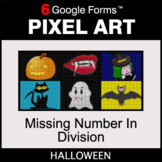 Halloween: Missing Number in Division - Pixel Art Math | G
