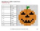 Halloween Math: Missing Numbers Addition - Color-By-Number Math Mystery Pictures