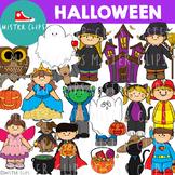 Halloween Clipart { Mister Clips }