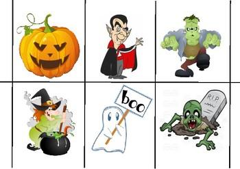 Halloween Mix and Match