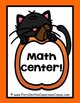 Halloween Quick and Easy to Prep Math Center Game for Mixe