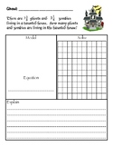 Halloween Mixed Numbers Addition and Subtraction Word Problems