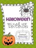 Halloween Mixed-Up Sentences