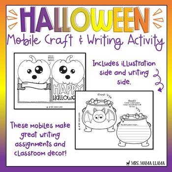 Halloween Mobile Activity